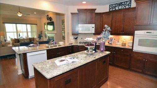 Kitchen-in-Redwood-at-Cresswind at Lake Lanier-in-Gainesville