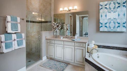Bathroom-in-Bellacerra-at-PGA Village Verano-in-Port Saint Lucie