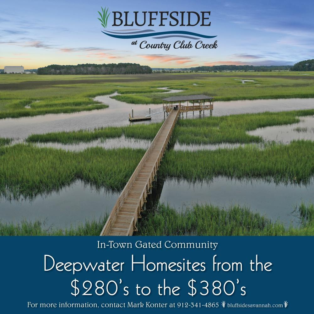 'Bluffside at Country Club Creek' by Konter Quality Homes in Savannah