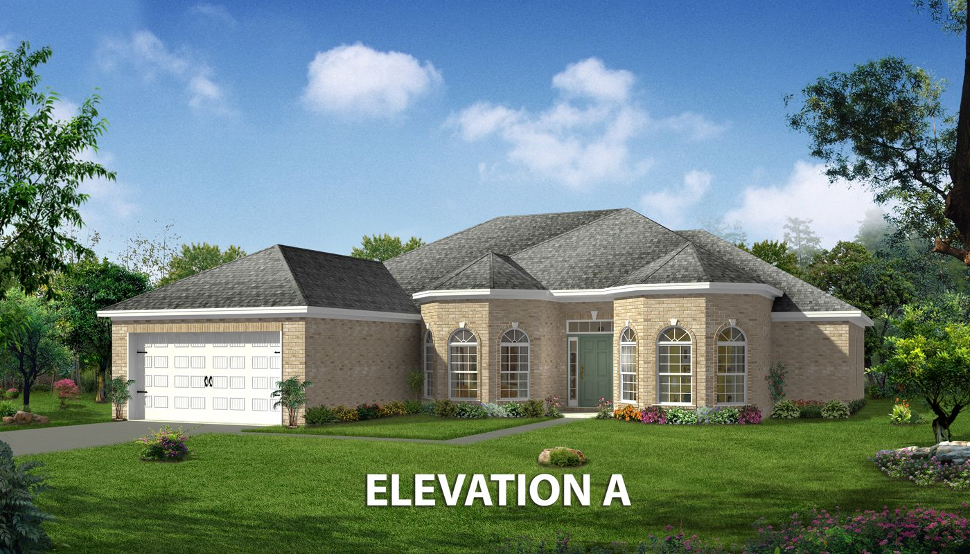 Exterior featured in the Scarborough By Konter Quality Homes in Savannah, GA