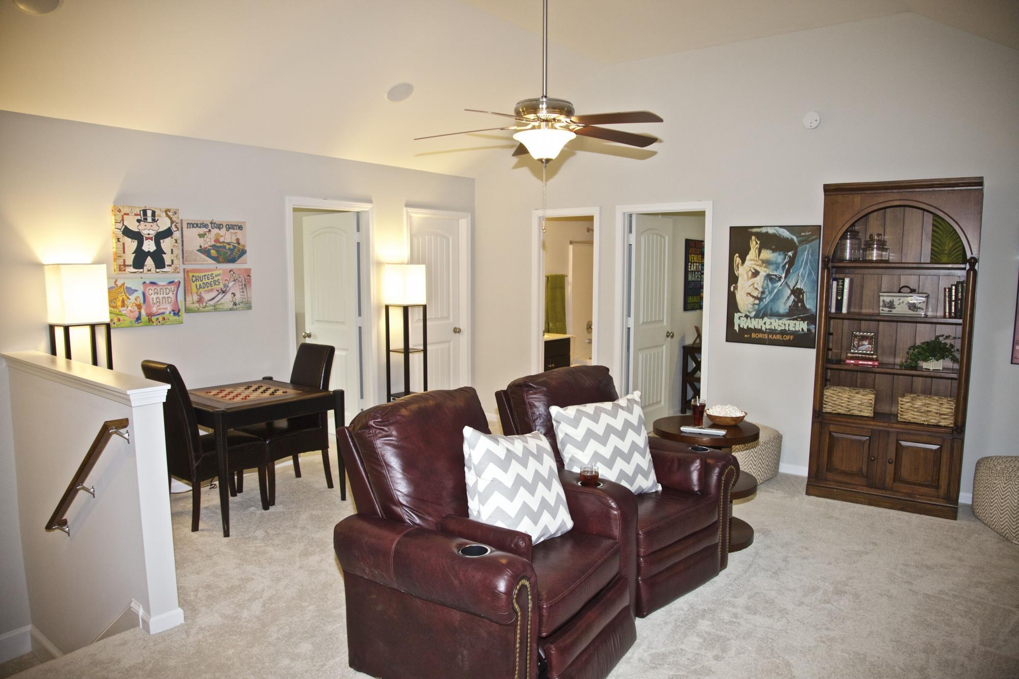 Living Area featured in the Camden By Konter Quality Homes in Savannah, GA