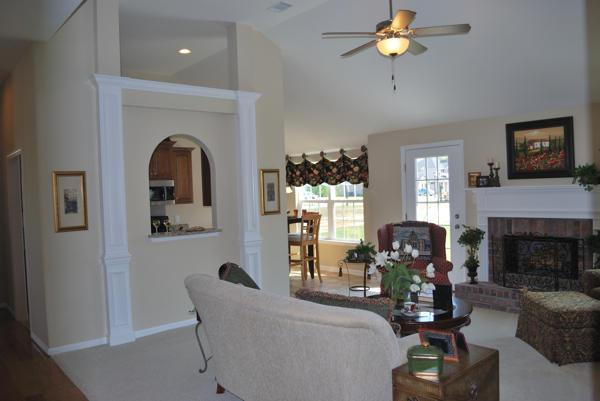 Living Area featured in the Grady By Konter Quality Homes in Savannah, GA