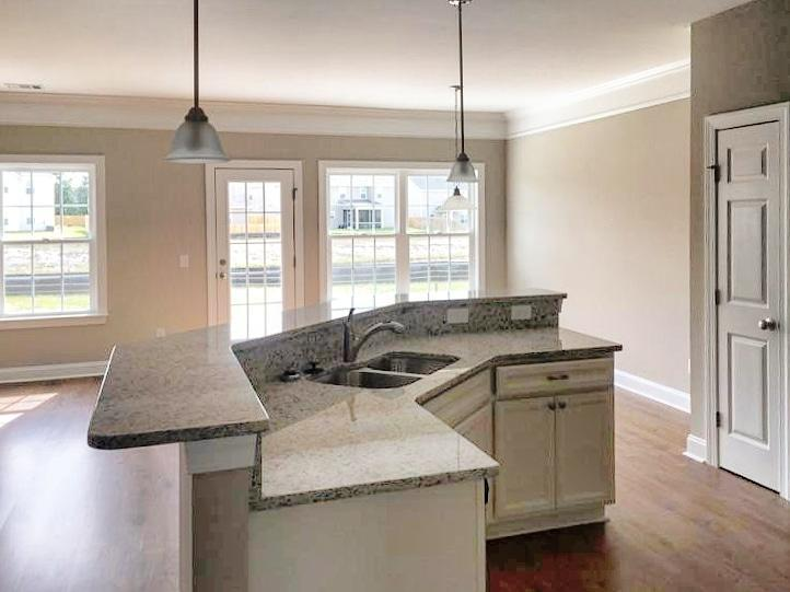 Kitchen featured in the Camden By Konter Quality Homes in Savannah, GA