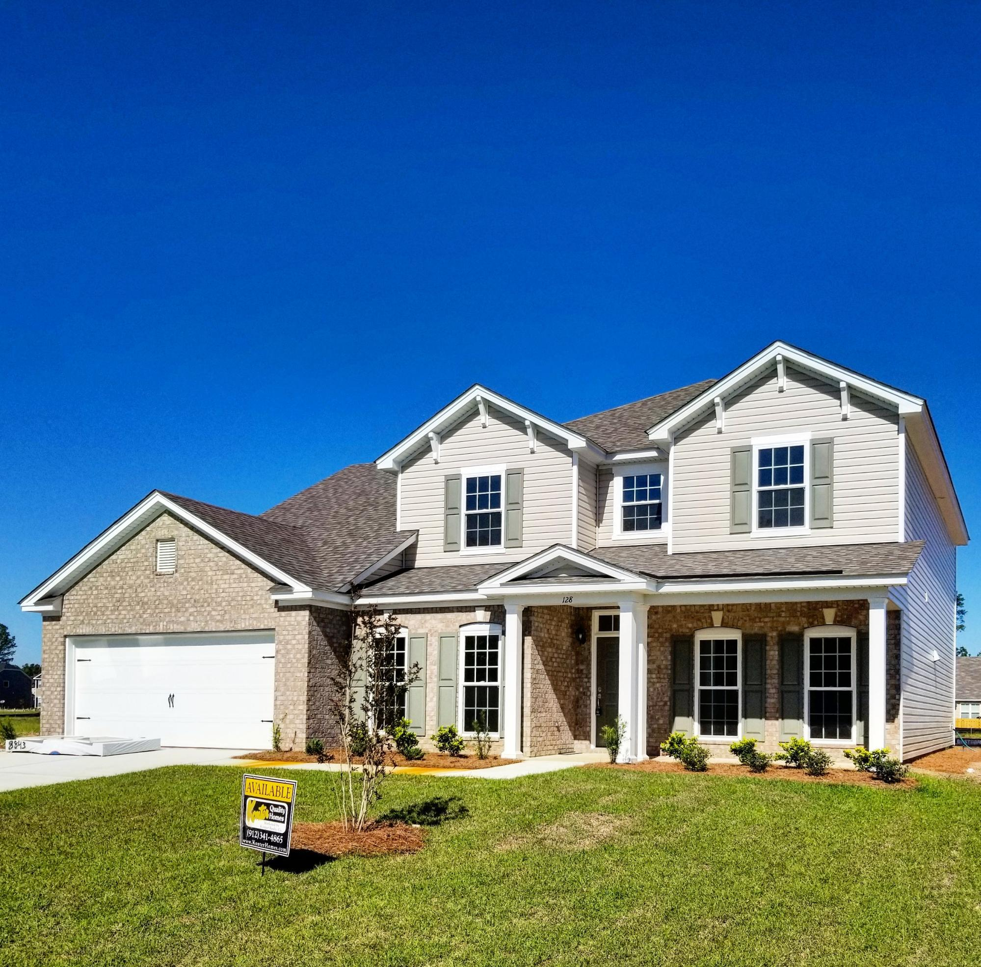 Exterior featured in the Camden By Konter Quality Homes in Savannah, GA