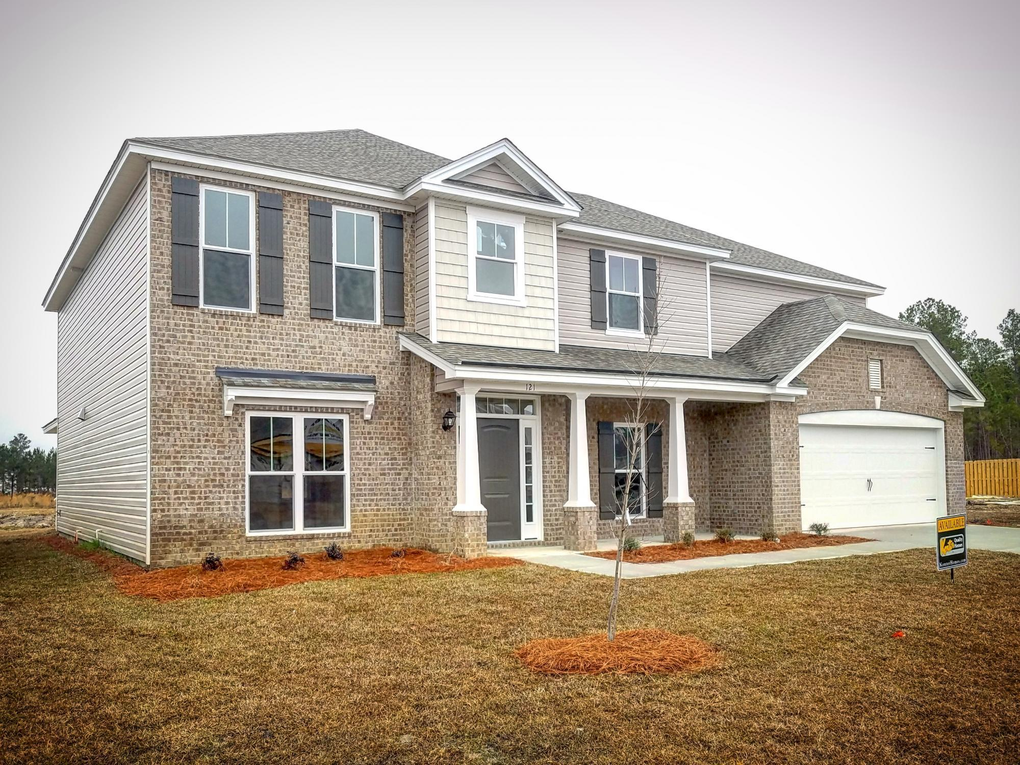 Exterior featured in the Montgomery XL By Konter Quality Homes in Savannah, GA