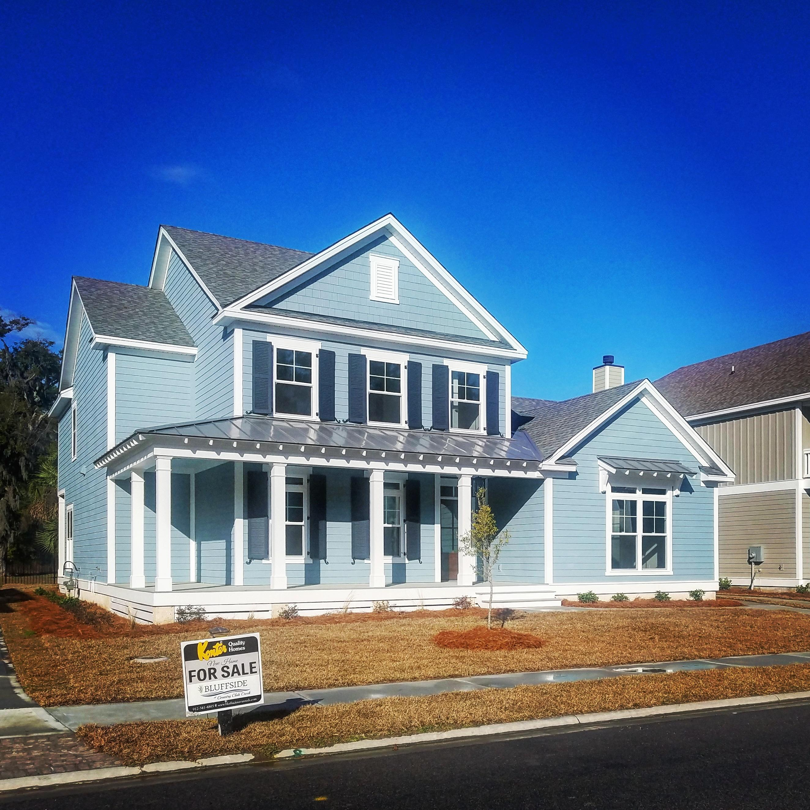 Exterior featured in the Cumberland By Konter Quality Homes in Savannah, GA