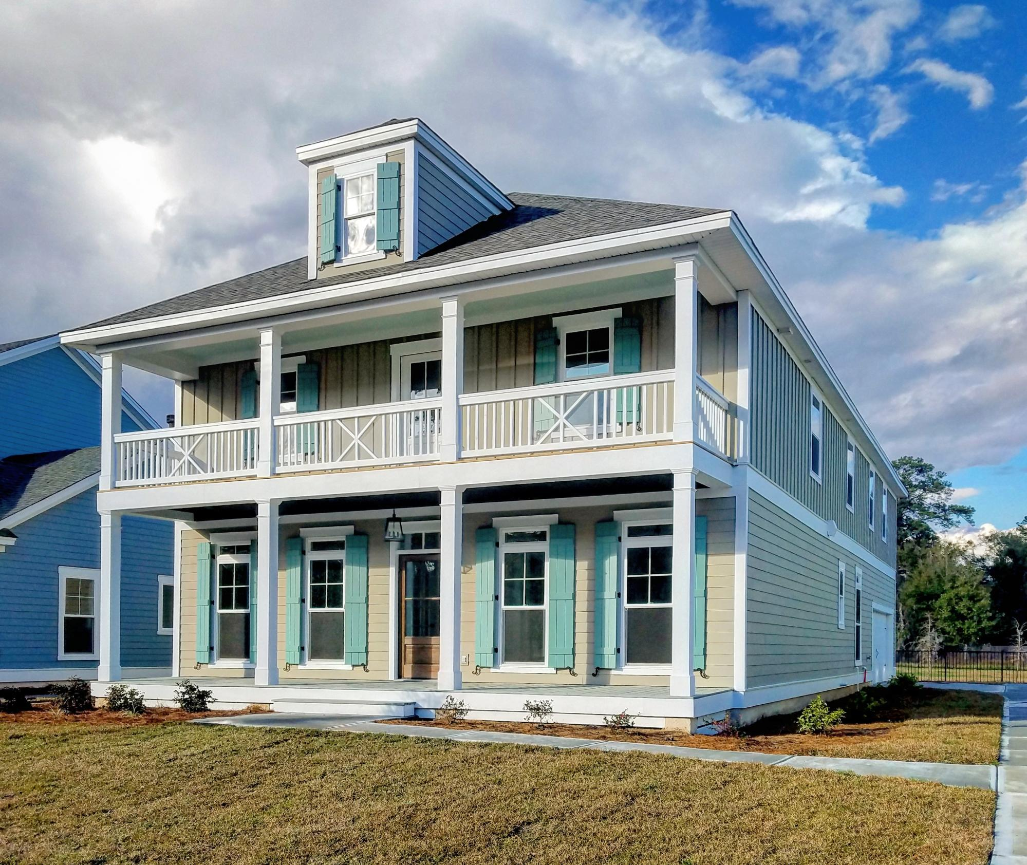 Exterior featured in the Ossabaw By Konter Quality Homes in Savannah, GA