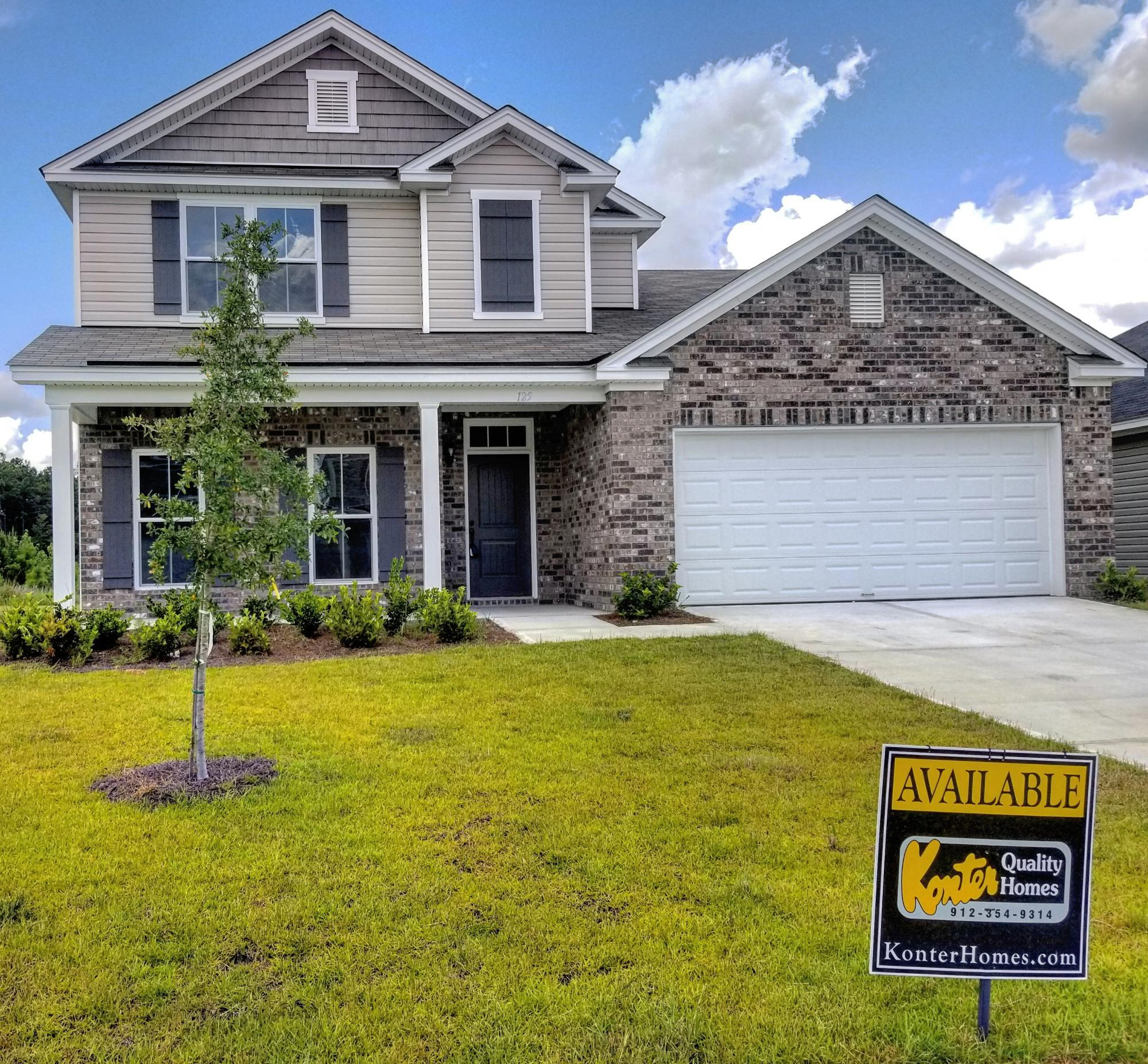 Exterior featured in the Walton By Konter Quality Homes in Savannah, GA