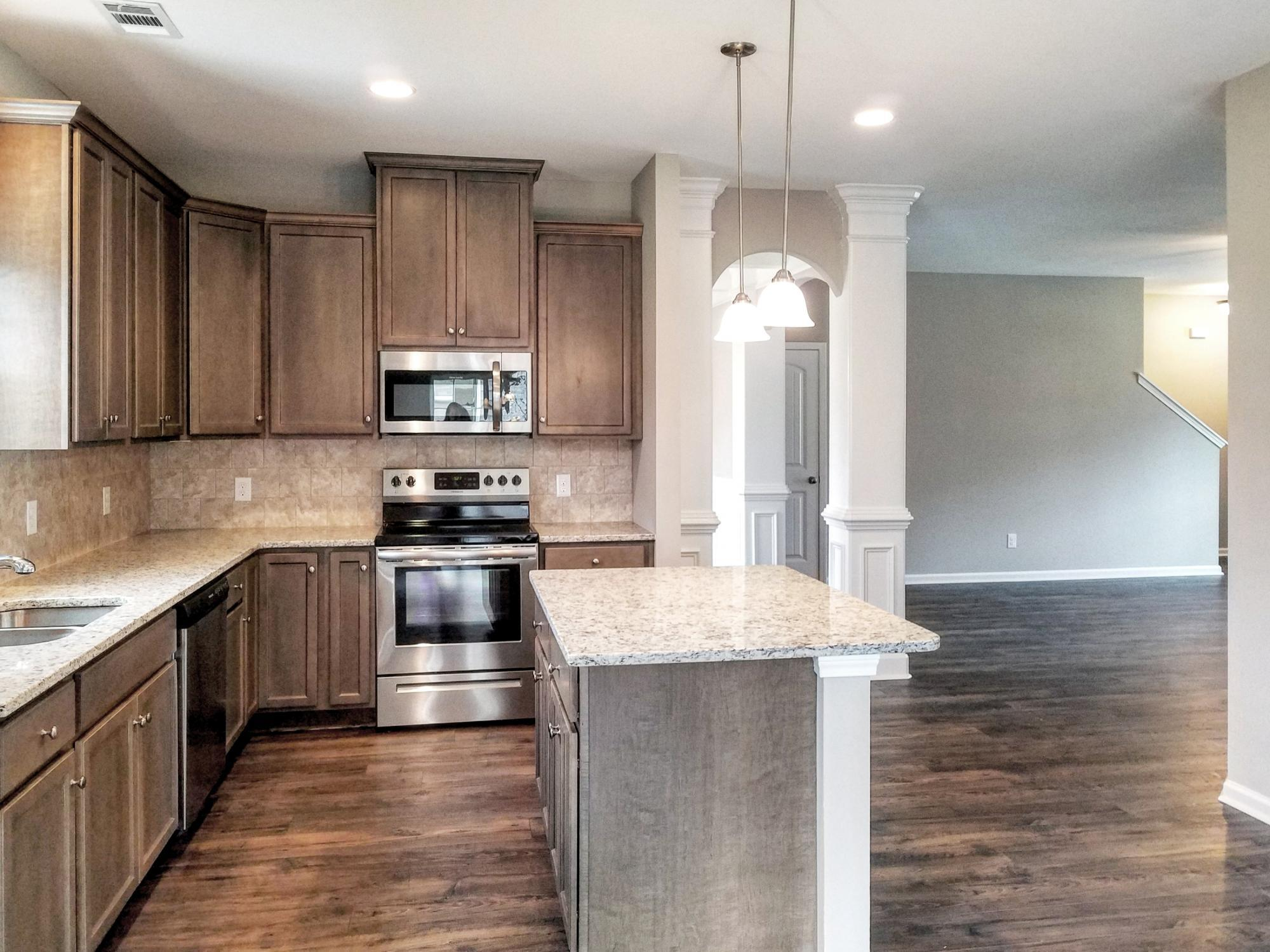 Kitchen featured in the Franklin By Konter Quality Homes in Savannah, GA