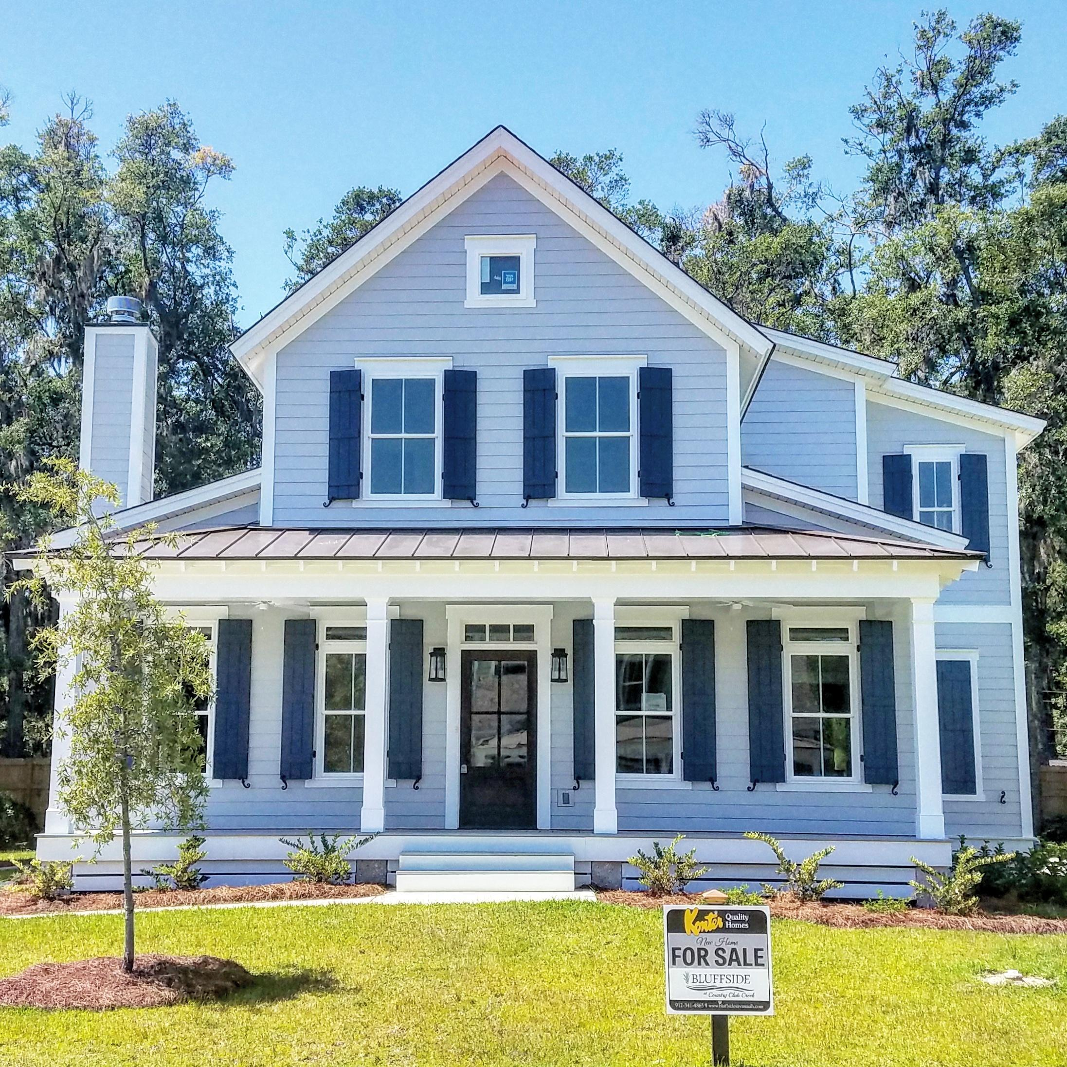 Exterior featured in the Kiawah By Konter Quality Homes in Savannah, GA