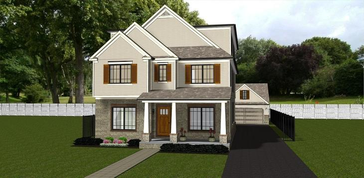 Elevation 3F:We Build on Your Lot