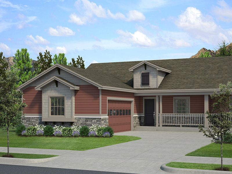 Exterior featured in The Snowmass By LC Home in Fort Collins-Loveland, CO