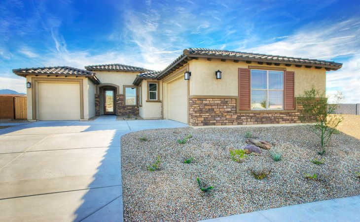 Terrata Homes at Estrella:The Mead