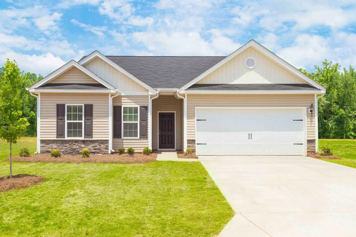 The Alexander by LGI Homes:The Alexander at Woodside at Mountain View