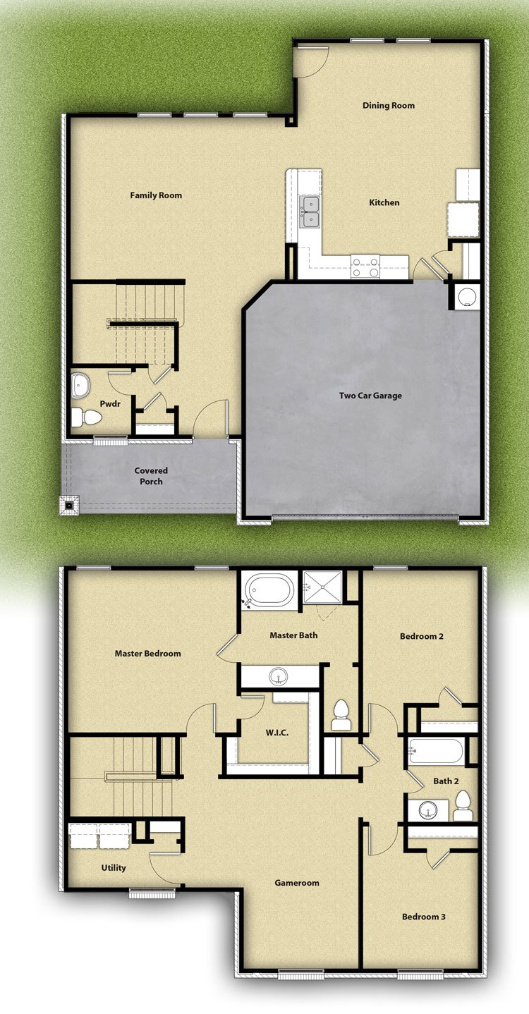 Higgins Plan At North Pointe Crossing In Anna Tx By Lgi Homes