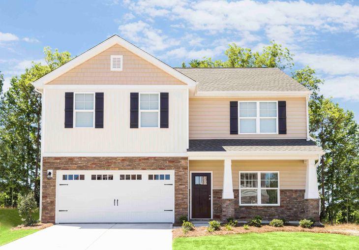 LGI Homes at Pecan Ridge:The Georgetown plan