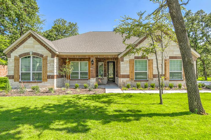 The Fairview by Terrata Homes:Stunning one-story home with incredible curb appeal.