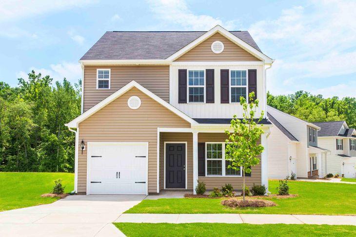 LGI Homes at Kendall Farms:The Anson plan