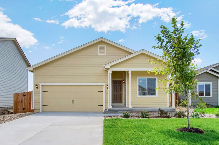 The Shavano by LGI Homes:Charming 3 bed/2 bath single story home available at Lorson Ranch