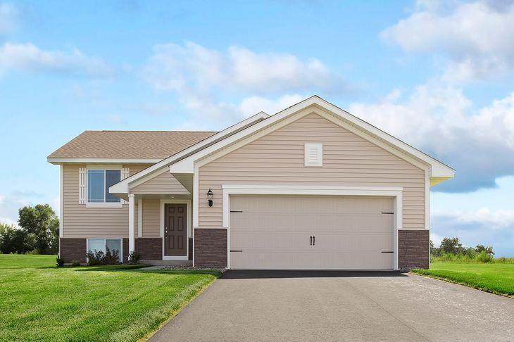 The Calhoun Split Level - LGI Homes:The Calhoun Split Level - LGI Homes