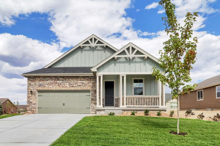 The Aspen by LGI Homes:Single story three bedroom home available at Spring Valley Ranch