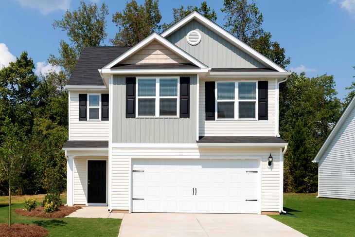 The Burke by LGI Homes:3 bed/2.5 bath home available at Kendall Farms