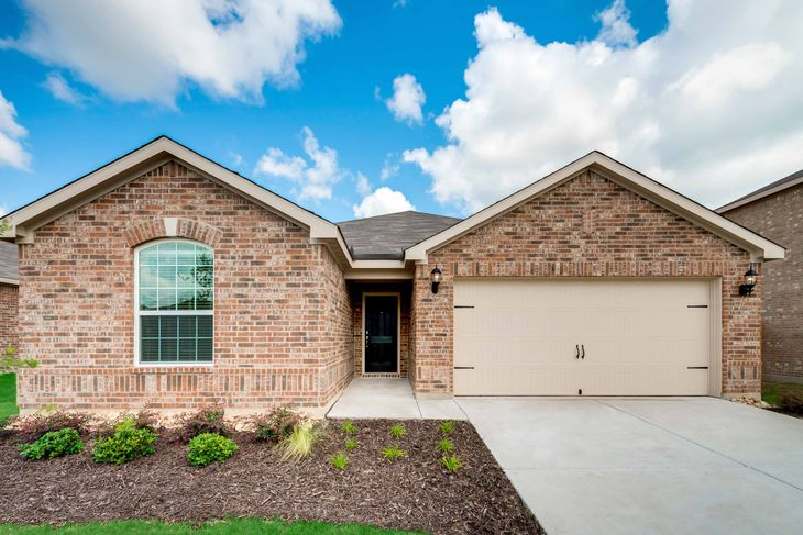 Sabine Plan by LGI Homes:The Sabine plan is available in the new section of North Pointe Crossing.