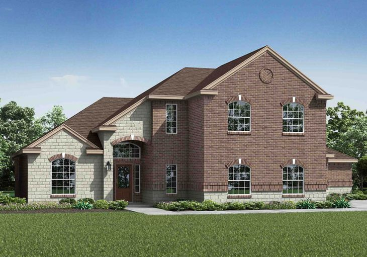 The Pedernales by LGI Homes:Grand, two story family home in the beautiful neighborhood of Meadow Springs!