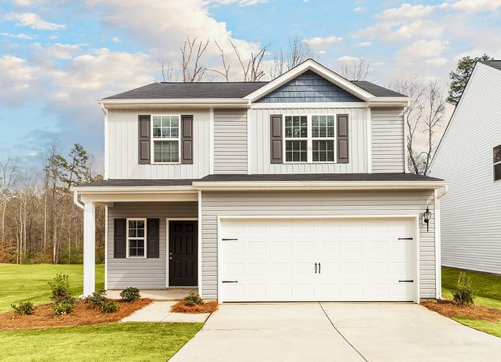 The Avery by LGI Homes:Beautiful two-story home with 3 bedrooms and a loft