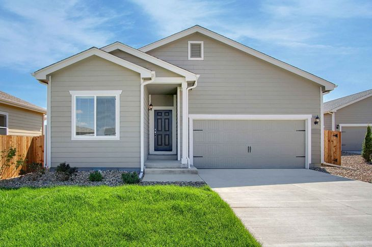The Oxford by LGI Homes:Beautiful 3 bed/2 bath home available at Lorson Ranch!