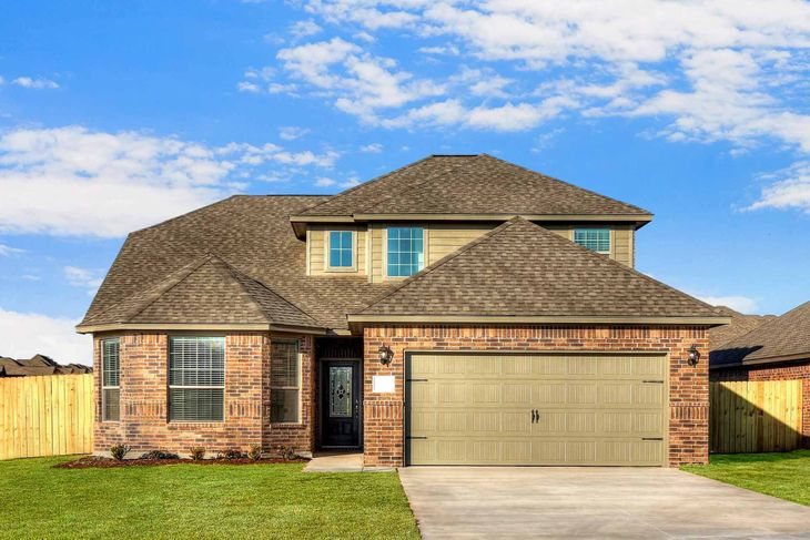 The Huron by LGI Homes:The beautiful Huron plan is now at Brookstone Lakes West!