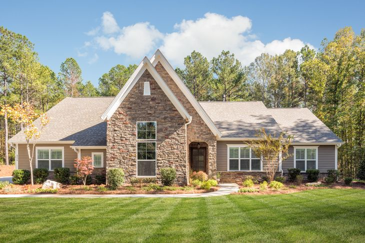 Terrata Homes at Riverchase Estates:The 3 bedroom, 3.5 bath Britton