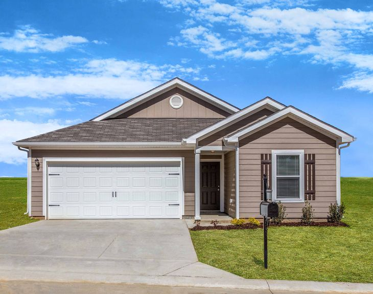 The Clairborne by LGI Homes:Charming 1-story 3 bed/2 bath home