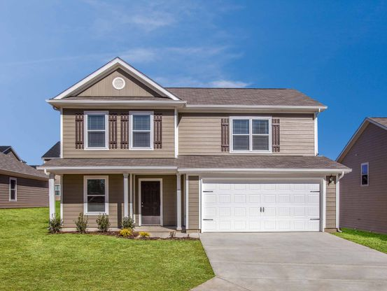 The Davidson at Honey Farms:4 bed/2.5 bath home available at Honey Farms