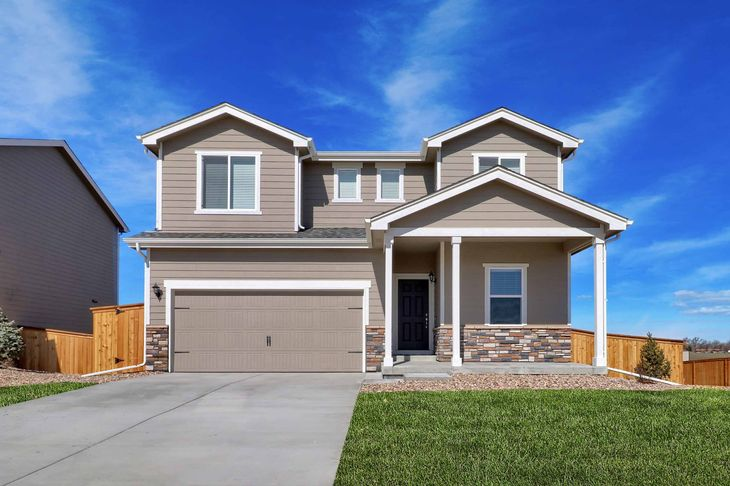 The Columbia by LGI Homes:Gorgeous 4 bed/2.5 bath home available at PrairieStar