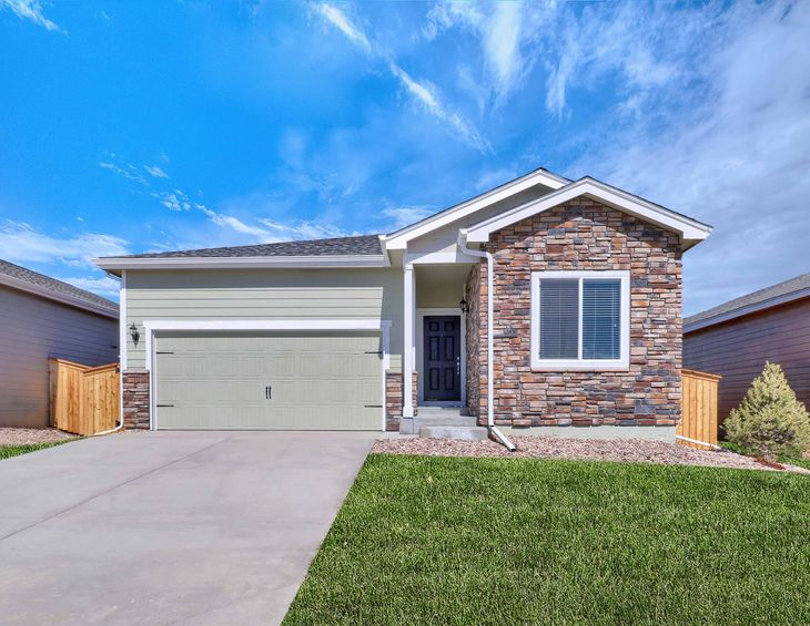 The Oxford by LGI Homes:Gorgeous 3 bed/2 bath home available at PrairieStar