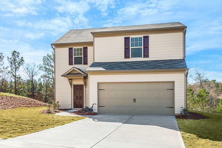 The Buckhorn by LGI Homes:Large 2-Story Home