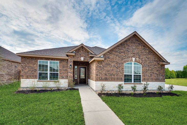 The Guadalupe by LGI Homes:A gorgeous 1-story, 4-bedroom home in the desirable neighborhood, Meadow Springs!