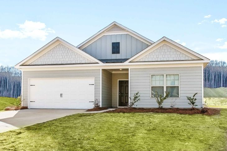 The Burton by LGI Homes:Gorgeous One Story Home