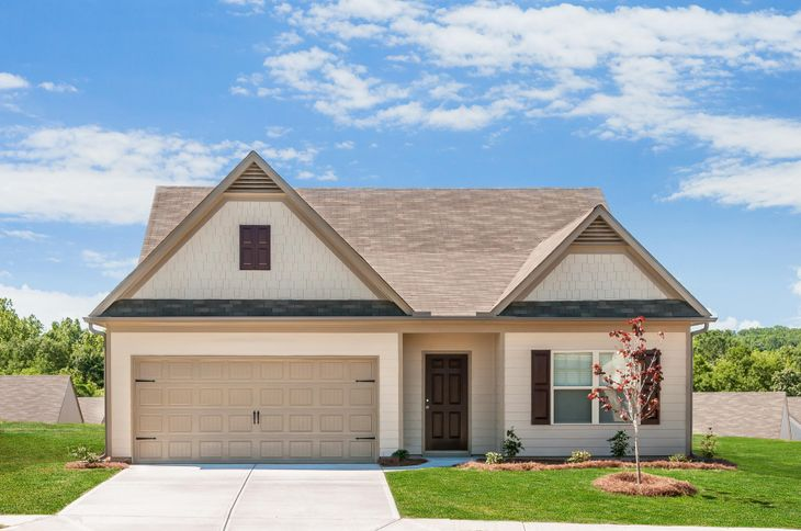 The Allatoona by LGI Homes:Charming One Story Home with Great Curb Appeal