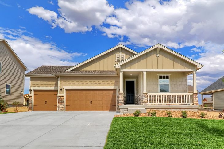 The Breckenridge by LGI Homes:3 bed/2 bath home available at Spring Valley Ranch