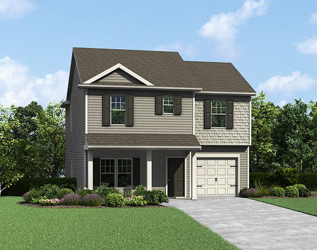 The Ashe by LGI Homes:Own this Home for Less than You Pay in Rent!