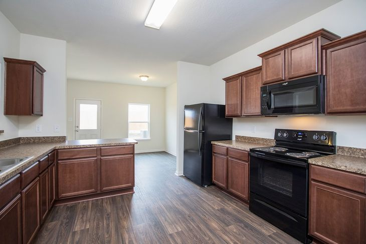 LGI Homes at Williams Trace:LGI Homes includes a full suite of energy-efficient appliances in every home.