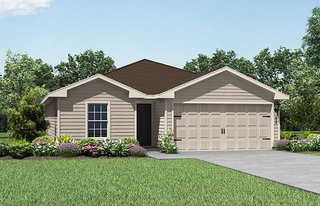 LGI Homes at Williams Trace:The Trinity plan by LGI Homes