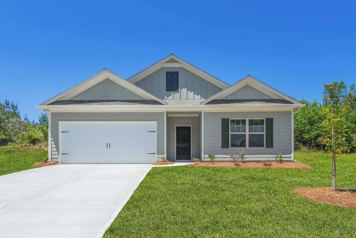 The Burton by LGI Homes:Beautiful Home with Covered Patio and Sun Room
