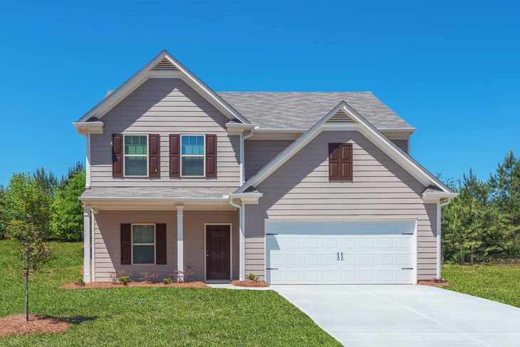 The Chatuge by LGI Homes:Incredible Two Story Home with Great Curb Appeal