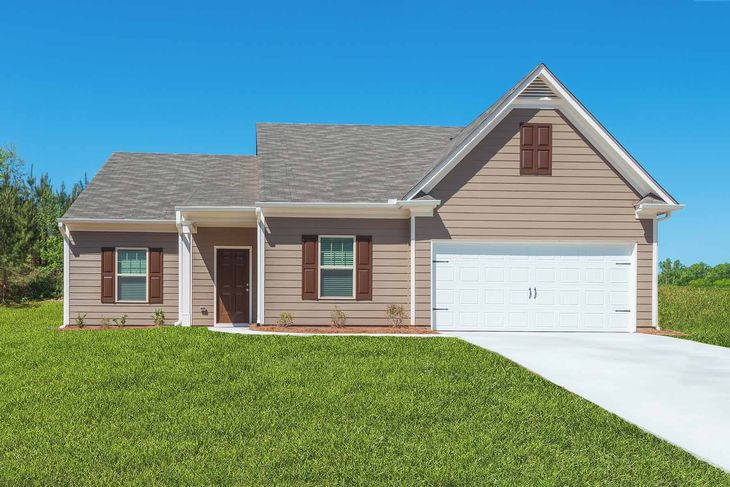The Dockery by LGI Homes:Beautiful Home with Covered Front Porch
