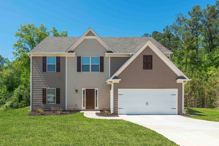 The Jackson by LGI Homes:Two Story Home with Breakfast Nook