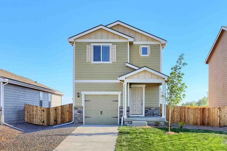 LGI Homes at Bennett Crossing:This charming home has over $10,000 in upgrades included!