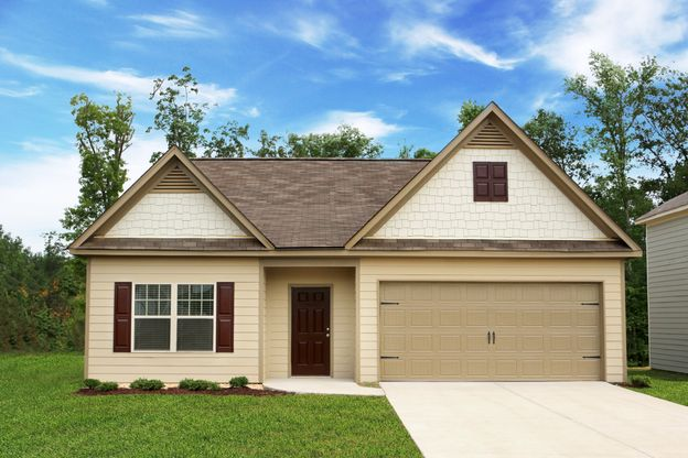 The Allatoona by LGI Homes:Beautiful Three Bedroom Home